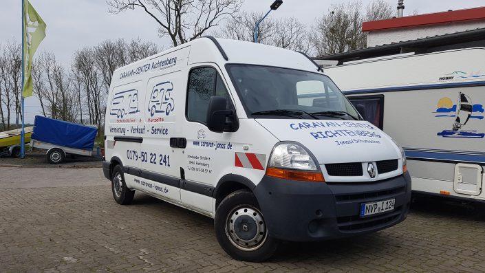 Campingplatz Service, Reparaturen Caravan, Wohnmobil reparieren